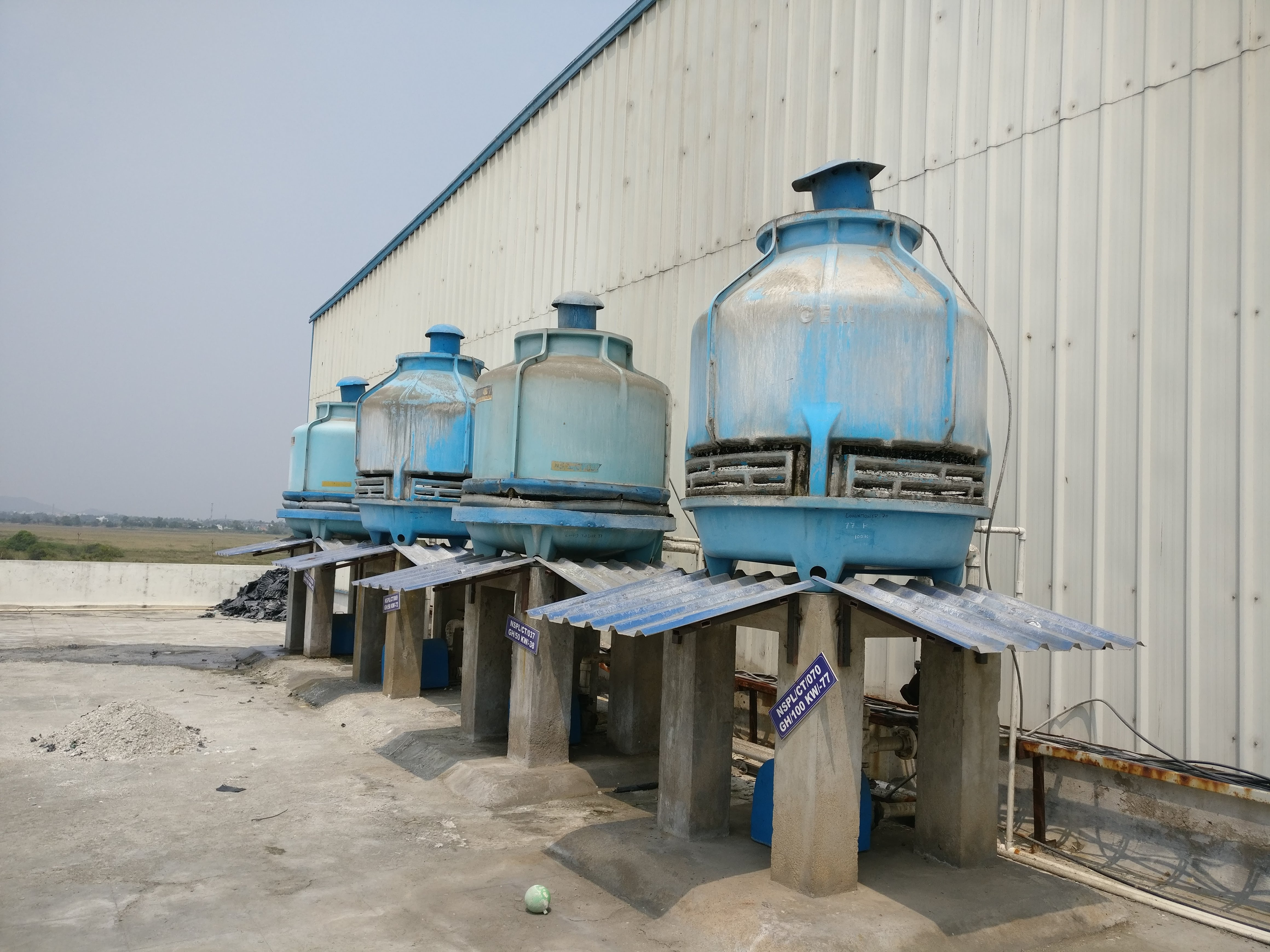 Cooling Tower Cleaning Chemicals