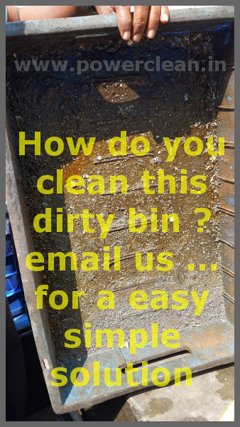 Dirty Bin Wash Cleaning Chemical